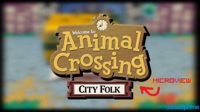 32219 normal Animal Crossing: City Folk Microview
