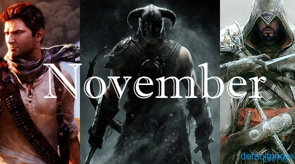 Month of November Games 7 Upcoming Games That I Could (Potentially) Miss Out On