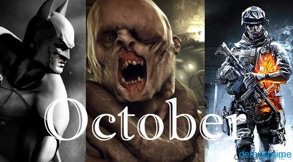 Month of October Games 7 Upcoming Games That I Could (Potentially) Miss Out On