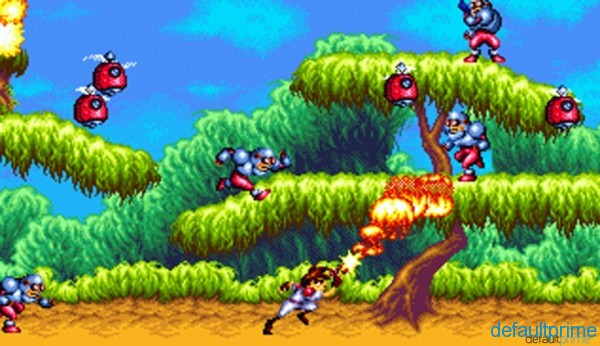 GUNSTAR HEROES 2 600x346 The Bitereon Collection: 06   Gunstar Heroes (Genesis, 1993)