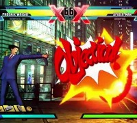 Phoenix Wright MvC3 Objection