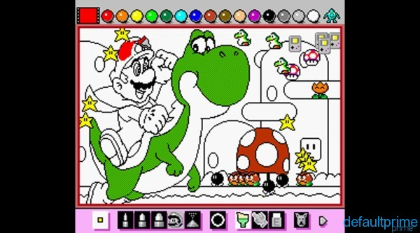 Mario Paint 2 600x334 The Bitereon Collection: 10   Mario Paint (SNES, 1992)