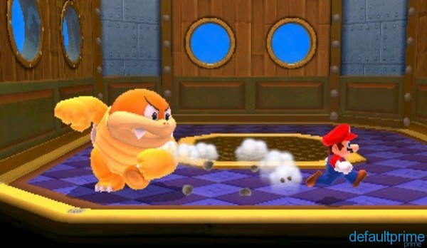 super mario 3d land screenshot boomer miniboss 600x348 Super Mario 3D Land