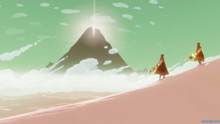 Just what exactly is at the top of the mountain? it's an enigmatic emblem from the start of the game and serves as a constant reminder of why the player is crossing the desert in the first place.
