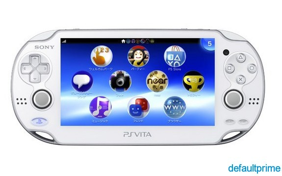 Crystal White PS Vita