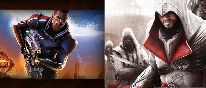 (Shepard & Ezio) Mass Effect Trilogy & Ezio Trilogy