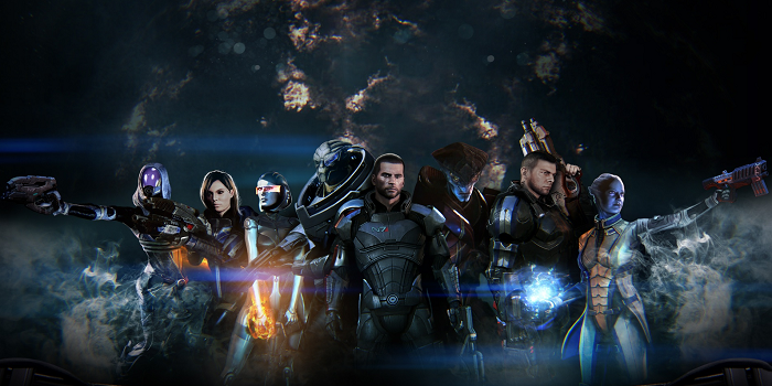 Mass Effect 3 Squad Kyrees Top Ten of 2012