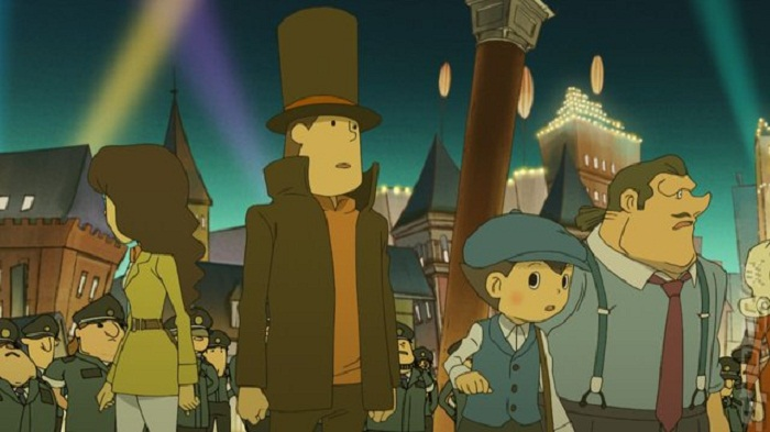 Professor Layton Lucas Stephens Top 10 of 2012