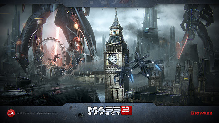 mass effect 3 london Mikes Top 10 of 2012