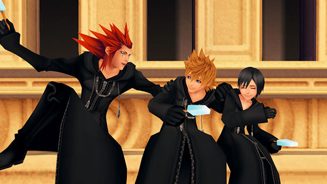 The Games of Kingdom Hearts 1.5 HD ReMIX
