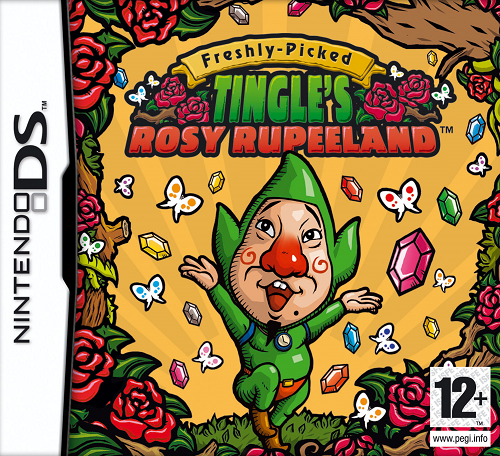 Freshly Picked Tingles Rosy Rupeeland Europe 10 Horrors of Video Game Box Art