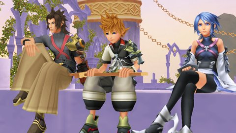Screenshot01 The Games of Kingdom Hearts 1.5 HD ReMIX