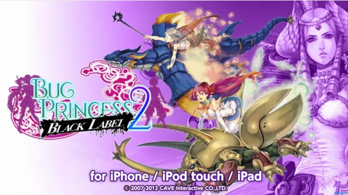 Mushihimesama Paints it Black with Bug Princess 2 Black Label for iOS